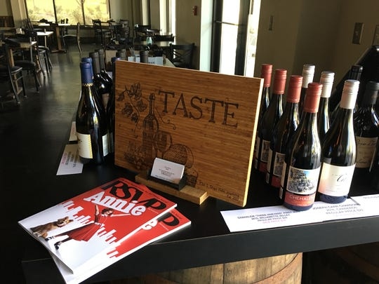 Taste specializes in wine flights and tapas plates.
