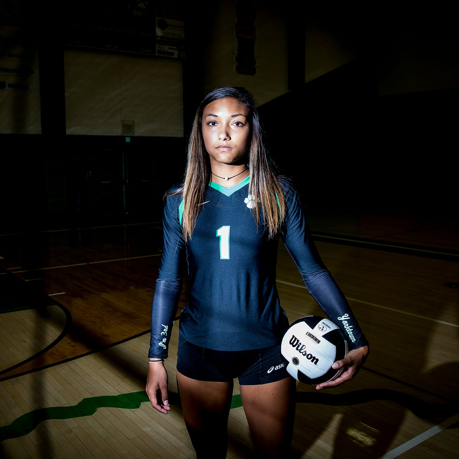 Volleyball star Kenzie Knuckles fought dad's death, immense pressure to get her life back