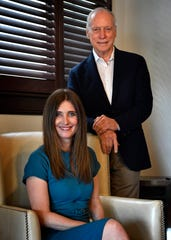 Garth Brooks manager Bob Doyle and researcher Lana Isreal developed an educational musical math program called Muzology that just won the National Science Foundation Award.Tuesday July 31, 2018, in Nashville, Tenn.
