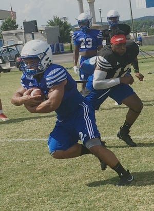 Former Ravenwood star Seth Rowland is among six running backs in the mix for the starting assignment at Tennessee State.