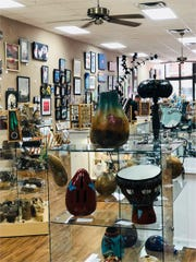 The Blue Morning Gallery features a wide range of affordable art, from pottery to photography, paintings, sculptures and more.