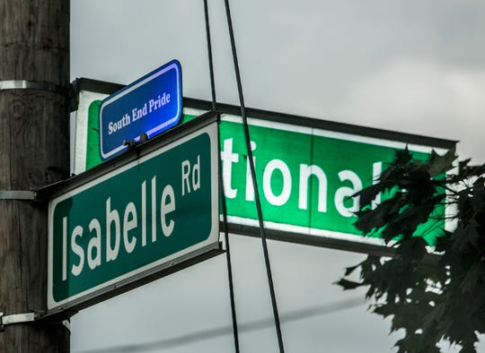 Isabelle Road will be closed for extensive road work, beginning Monday.