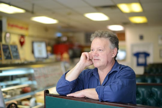 Bogie's Hoagies, a shop owned by Paul Beaugard,seen here in his Hawthorne eatery.