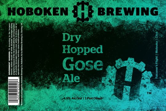 Dry Hopped Cose Ale from Hoboken Brewing Co.
