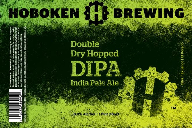 Double Dry Hopped DIPA from Hoboken Brewing