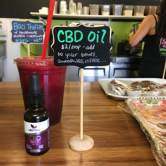 A Fairfield, Connecticut, cafe offers CBD oil in acai bowls, smoothies, juices and more.