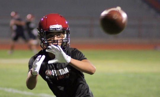 Humidity was high on Monday, but so was the intensity during the first day of Wildcat Football practice at Deming High School Memorial Stadium.