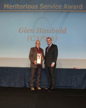APPA recently recognized the contributions of Glen Haubold, associate vice president of facilities and services at New Mexico State University, with its 2018 Meritorious Service Award.