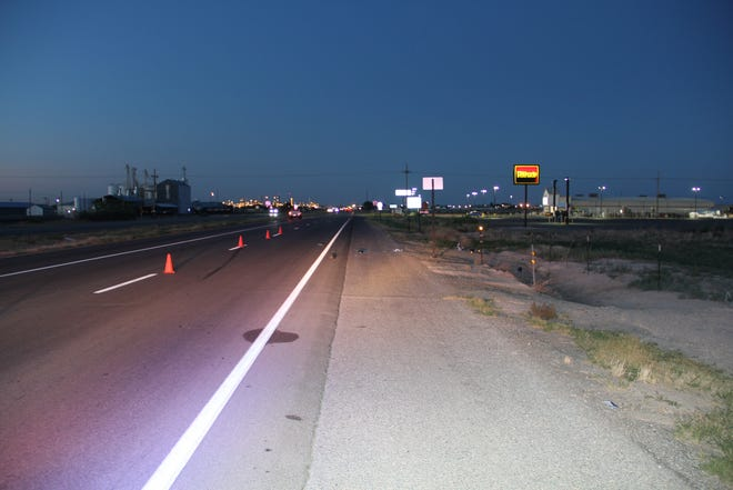 U.S. Highway 285 near Mill Road in Artesia was the scene of a hit and run involving a bicyclist last month.