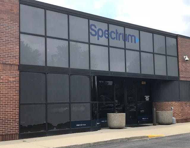 Charter Communications is closing its customer service center at its Livonia facility and slashing 60 jobs.