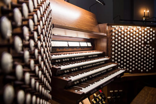 The organ at St. Matthew has 14,470 pipes and over 230 stops and is the 10th largest pipe organ in the world. Scott Fredericks, the Minister of Music for the last 37 years, is the church's organist.