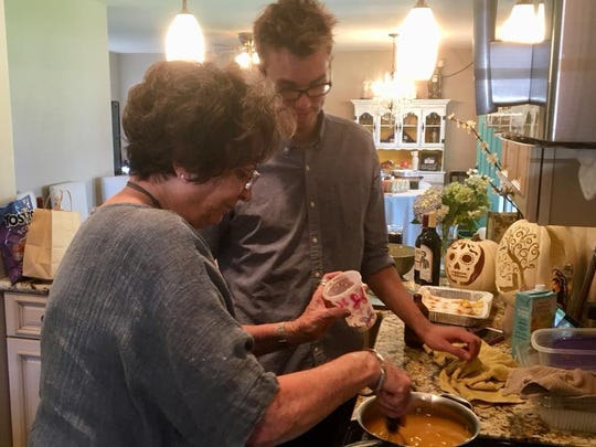 Sawyer Bland learns how to make his Nana's famous gravy, which he can't eat now because it contains gluten.