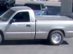 Suspect vehicle fled after robbery