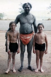 Craig Hocknull (left) was invited to experience Aboriginal culture while growing up in Australia.