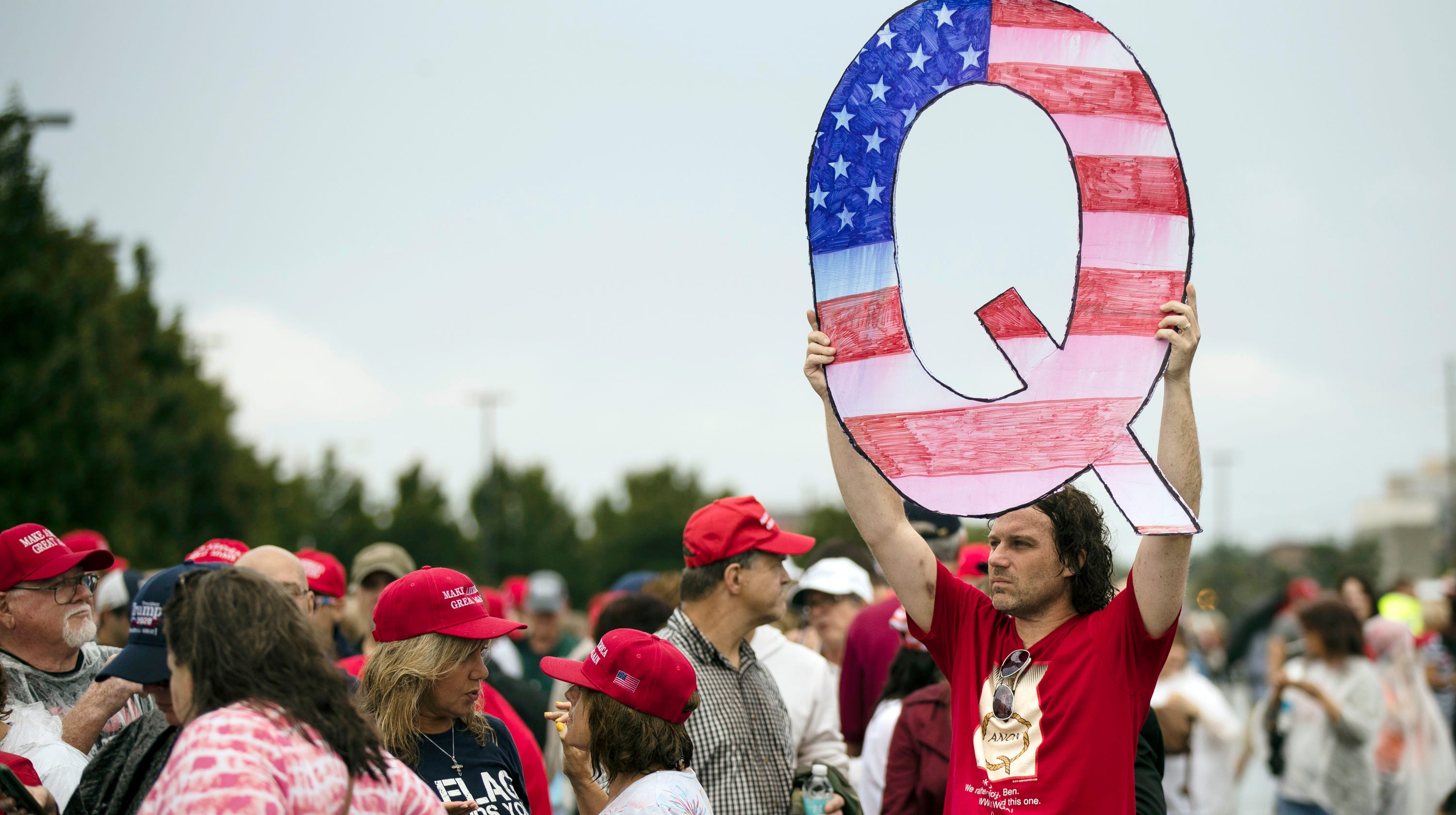 Two Arizona arrests have ties to QAnon conspiracy theory movement