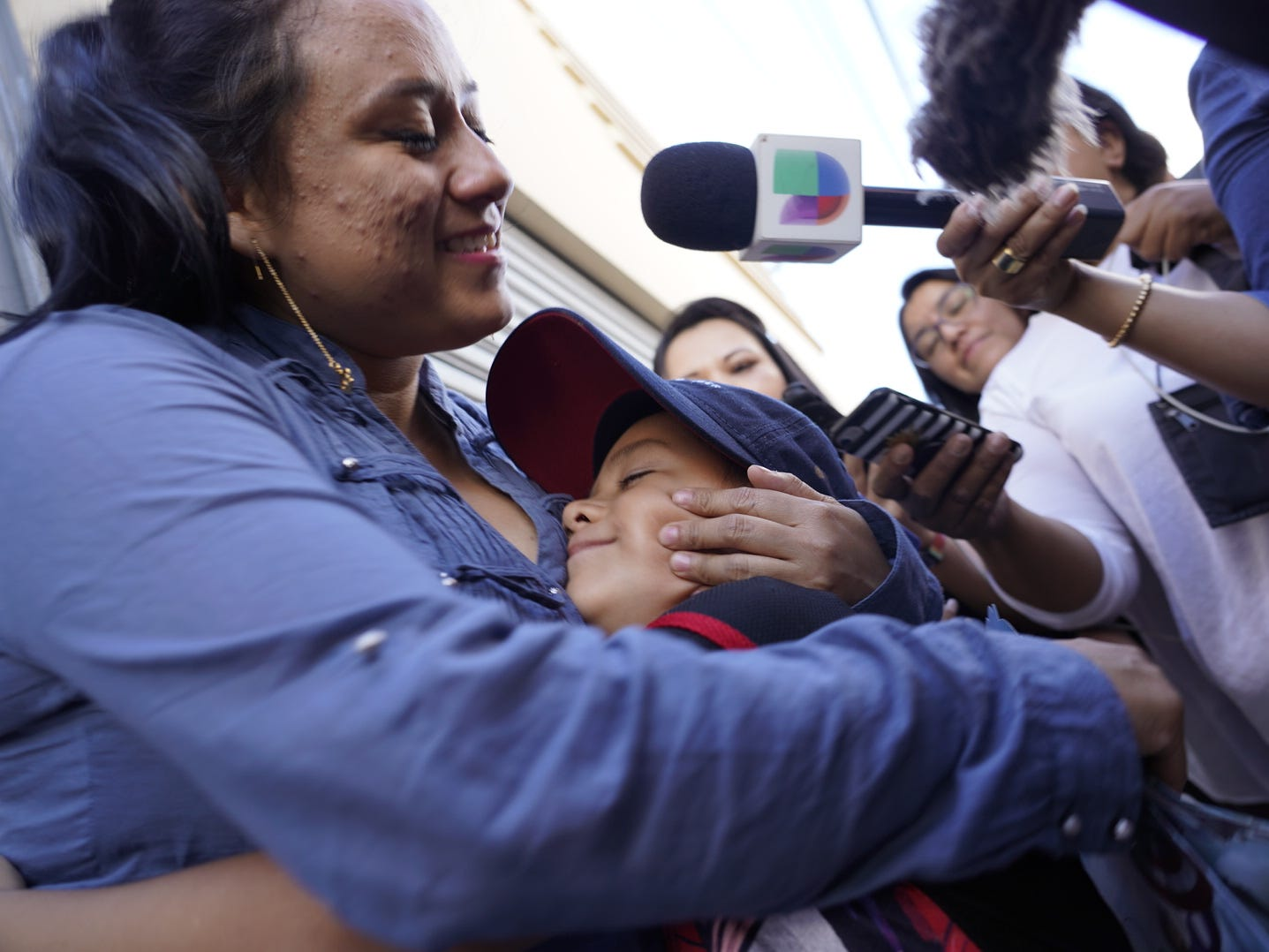 Lourdes Marianela De Leon reunites with her son Leo after months of separation. De Leon was deported to Guatemala without her 6-year-old son and hasn't seen him for over a month after he was taken from her by CBP officials two days after they entered the US illegally near San Luis, Arizona in May. Leo remained in the U.S. in a shelter in New York, along with about 240 other children separated from their parents under the Trump administration's zero-tolerance policy.