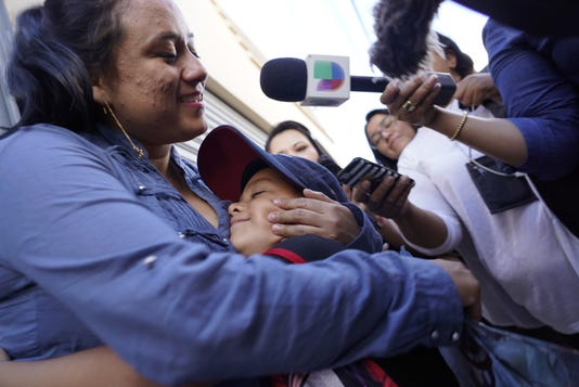 Guatemalan mother reunited with son
