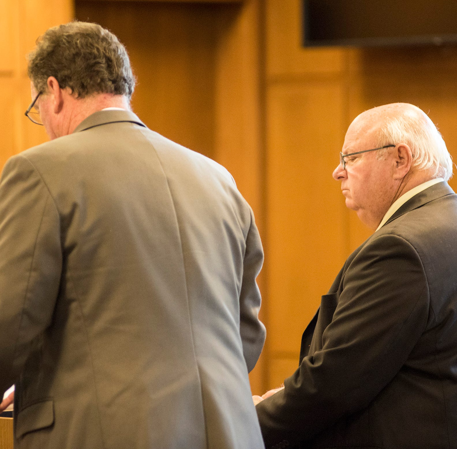 Retired Clay cop pleads no contest in shooting