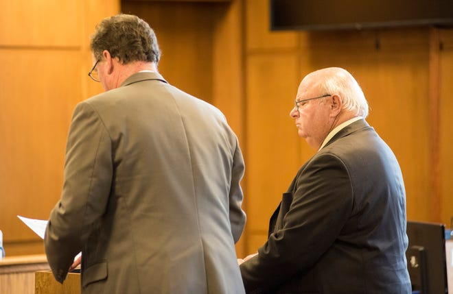 Graham Rummel, right, will have a pre-trial hearing on Sept. 24.