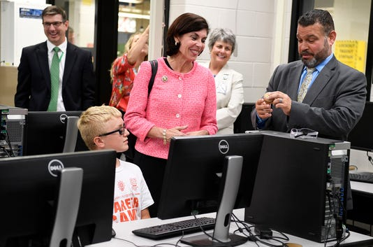 Ed Secretary Visits York Tech On Stem Tour