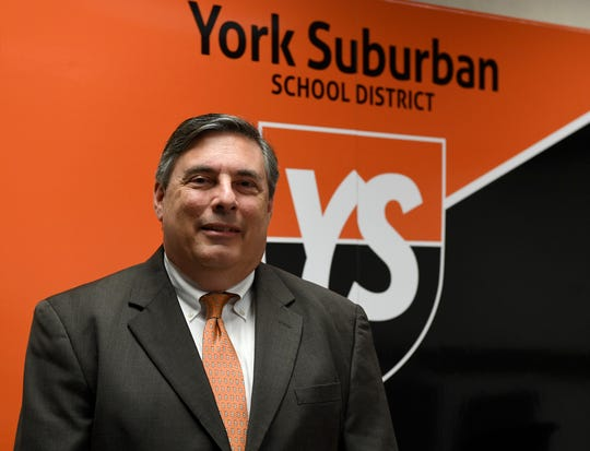 York Suburban School District Superintendent Dr. Timothy Williams.  John A. Pavoncello photo