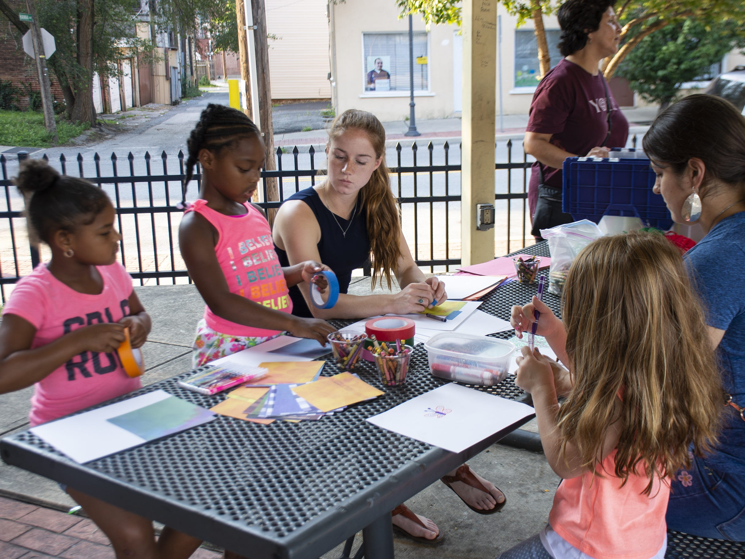Kids can draw and paint during this week's Art In The Parks event from 6:30 to 7:30 p.m. Aug. 6-10 at Renaissance Park in York.
