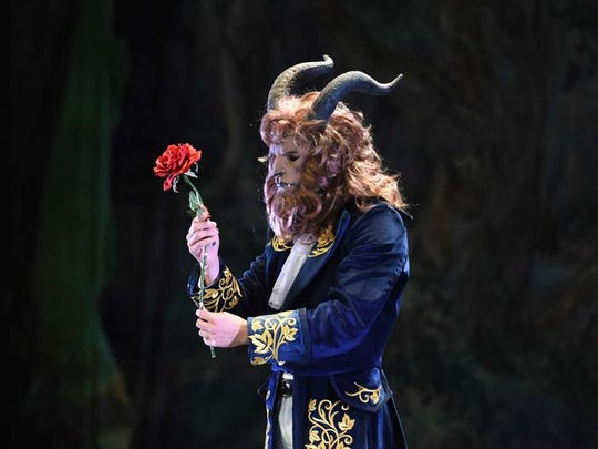 "An image of the beast from AVA Ballet Theatre's 2018 production of ""Beauty and the Beast."""