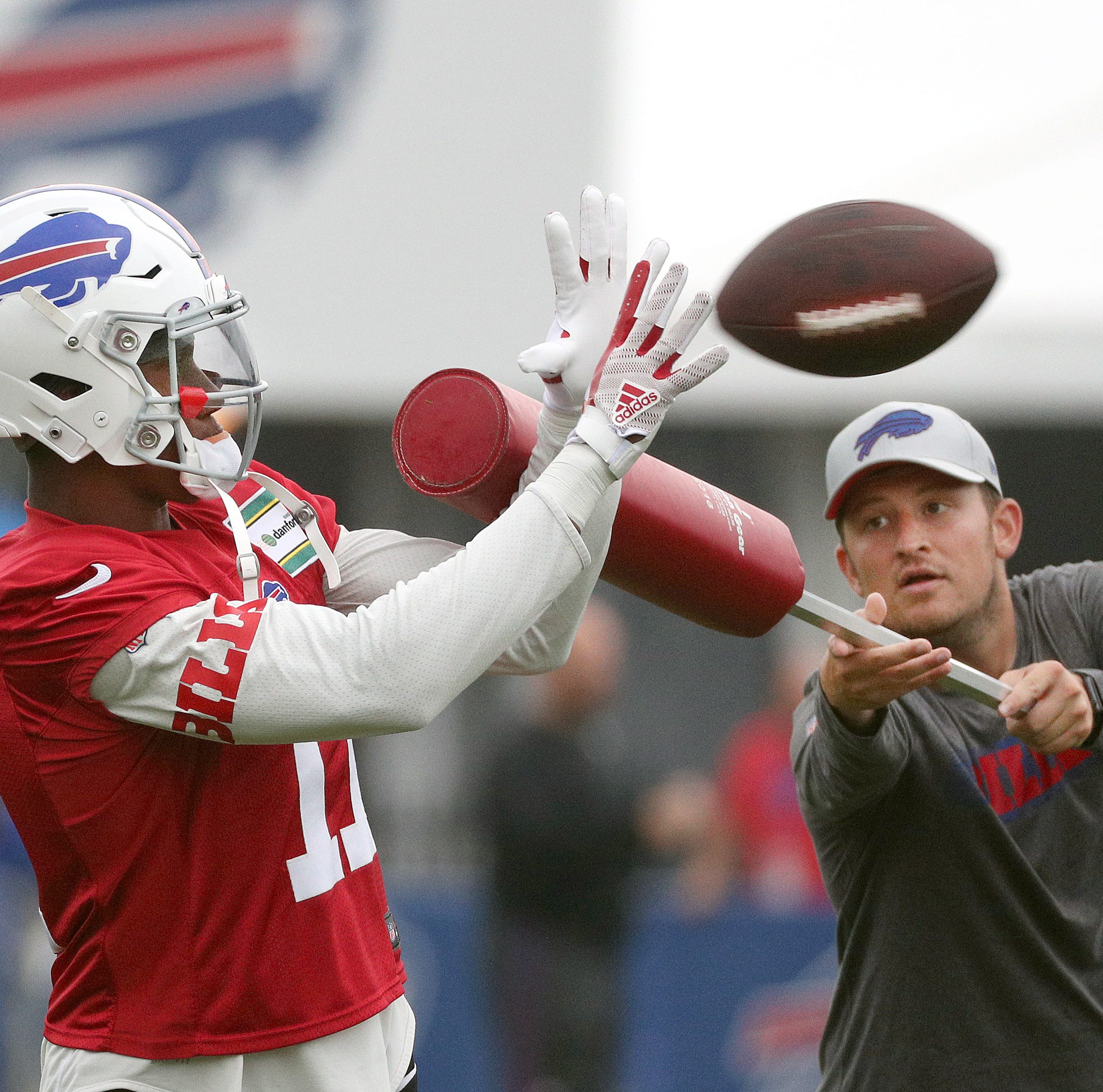 Cleared for contact, Bills' WR Zay Jones in a feisty mood
