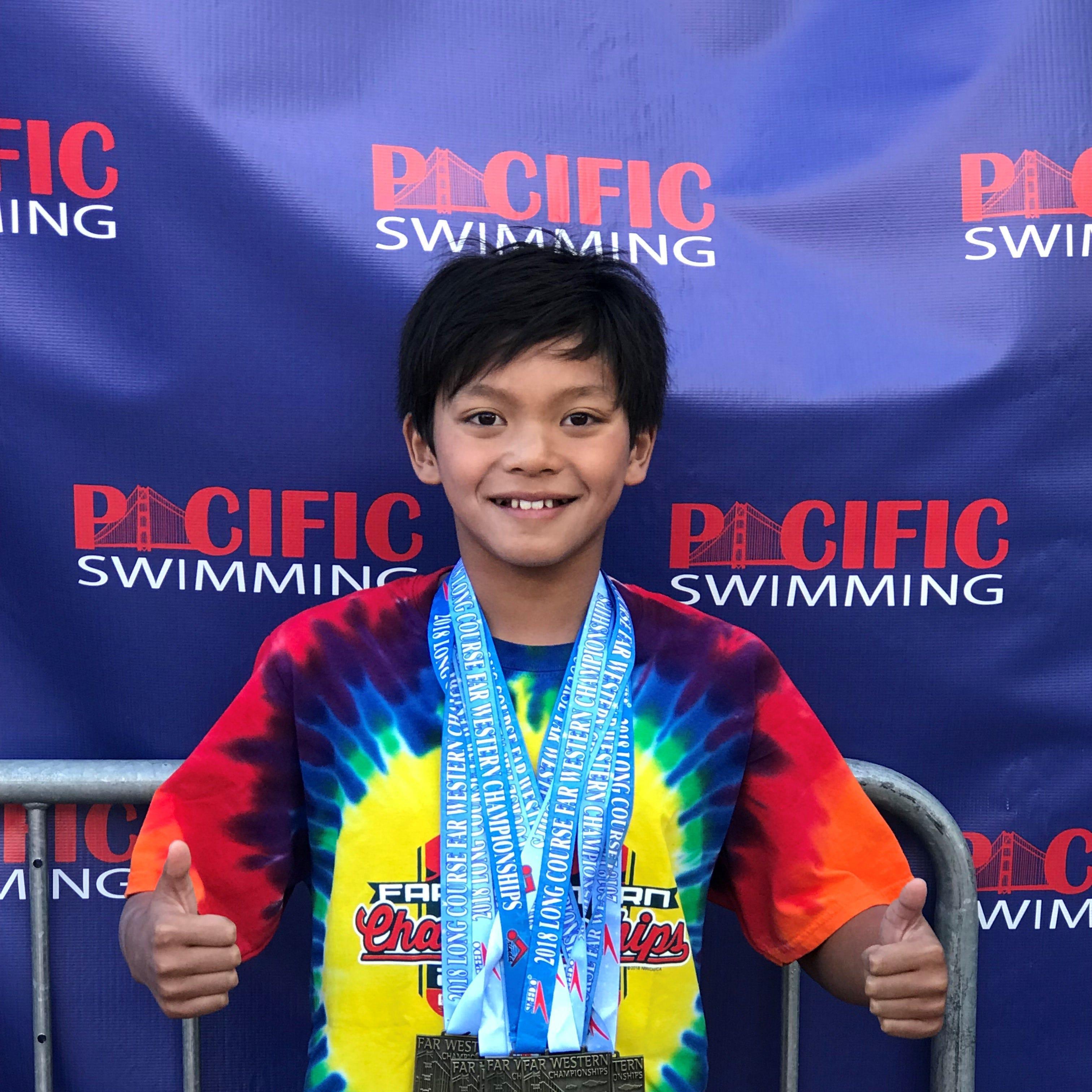 How Salinas' 'Superman' Clark Kent Apuada beat Michael Phelps' record