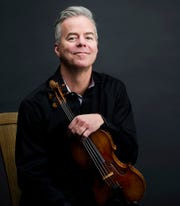 Frank Almond, Milwaukee Symphony Orchestra's concertmaster, will be featured in the Brahms Violin Concerto.