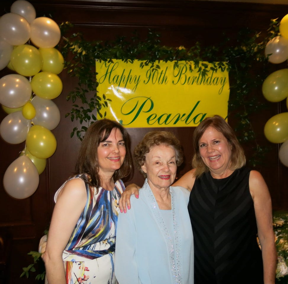 Trio toasts 90th birthday