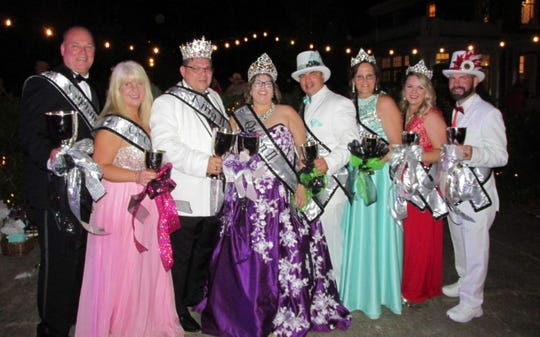Krewe Nemesis 2019 Royal Court announced at the Royalty Coronation: Captain Nemesis II Tim Mouser; Co-Captain Michelle Parkerson; King David Scruggs; Queen Melanie Scruggs, Duke and Duchess of Mayhem  Ricky Hays and Heather Hays, Duchess and Duke of Serenity Ronda Taylor and A.J. Scruggs.