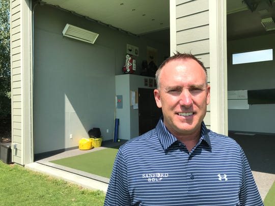 Todd Kolb, a Sioux Falls native and PGA teaching pro, will be the director of golf for the Sanford Power Golf Academy.