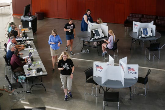 The Davis-Harrington Welcome Center at Missouri State University is one of four central polling places that will be open during the Nov. 6 election.