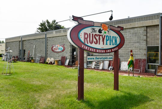 The Waite Park location of the Rusty Pick, specializing in antiques and repurposed one-of-a-kind items, is shown Tuesday, Aug. 7, at 311- 28th Ave S.