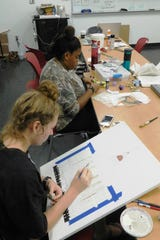 Using a variety of media, techniques and even artistic disciplines, campers expressed their responses to what they learned.