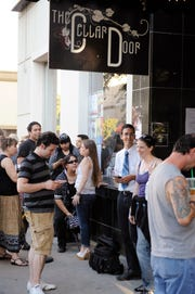 Audiences line up for a concert at The Cellar Door in this 2009 file photo.