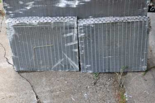 Sometime during an early July weekend, someone, or a group of people, went behind a business building on Steel Lane in the town of Texas and removed three air conditioning condensers, and the associated copper piping, from two commercial-grade air conditioners.