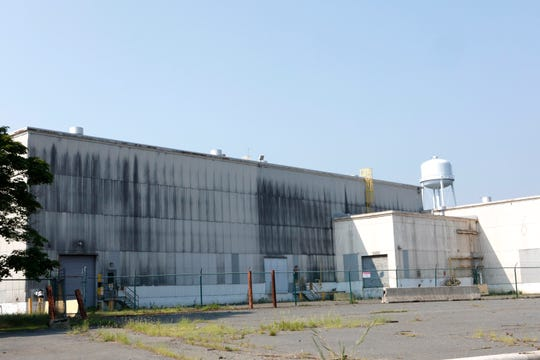 The U.S. Gypsum plant in Stony Point on Aug. 7, 2018.