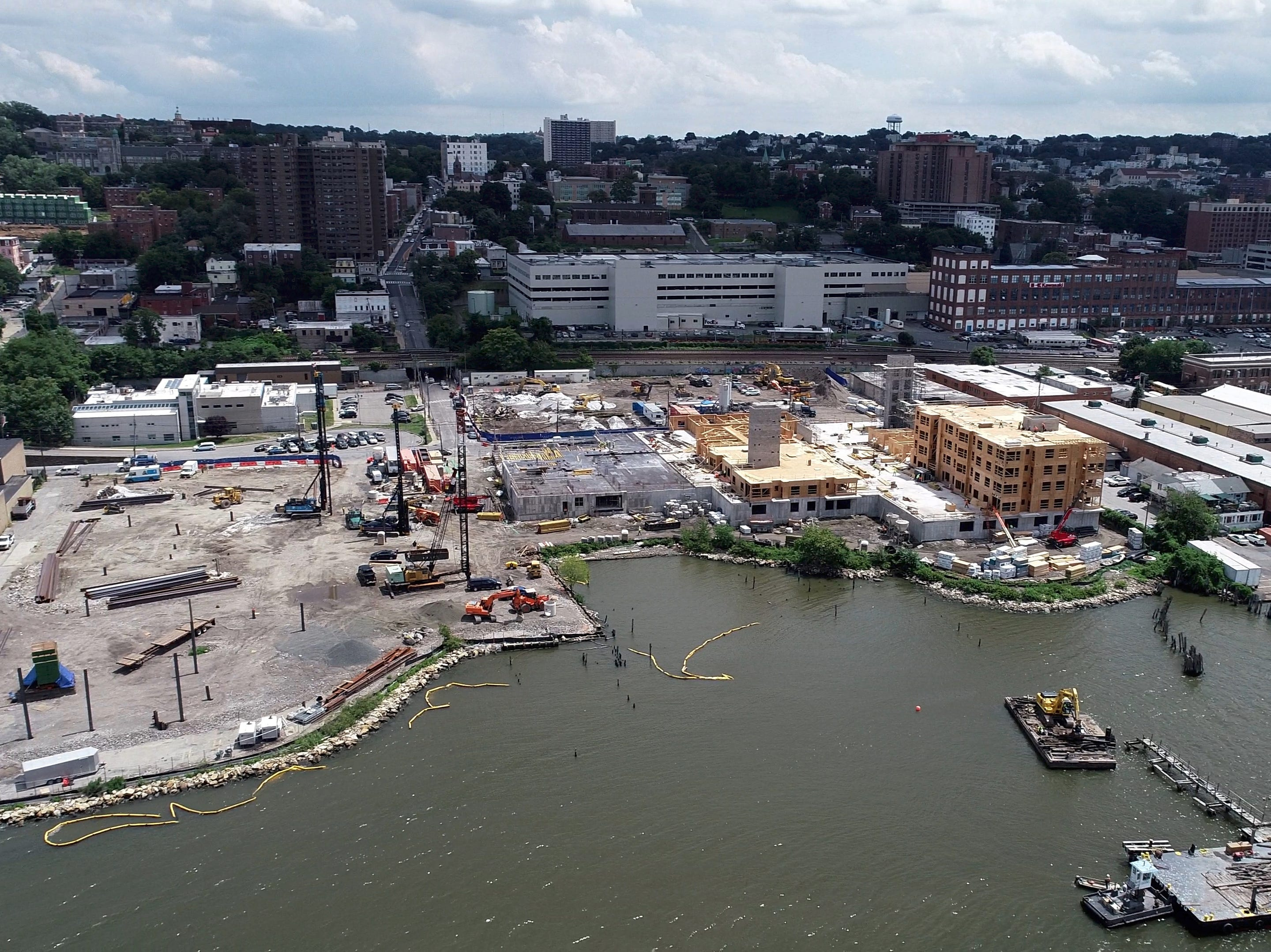 The Avalon Bay development site in Yonkers Aug. 2, 2018.