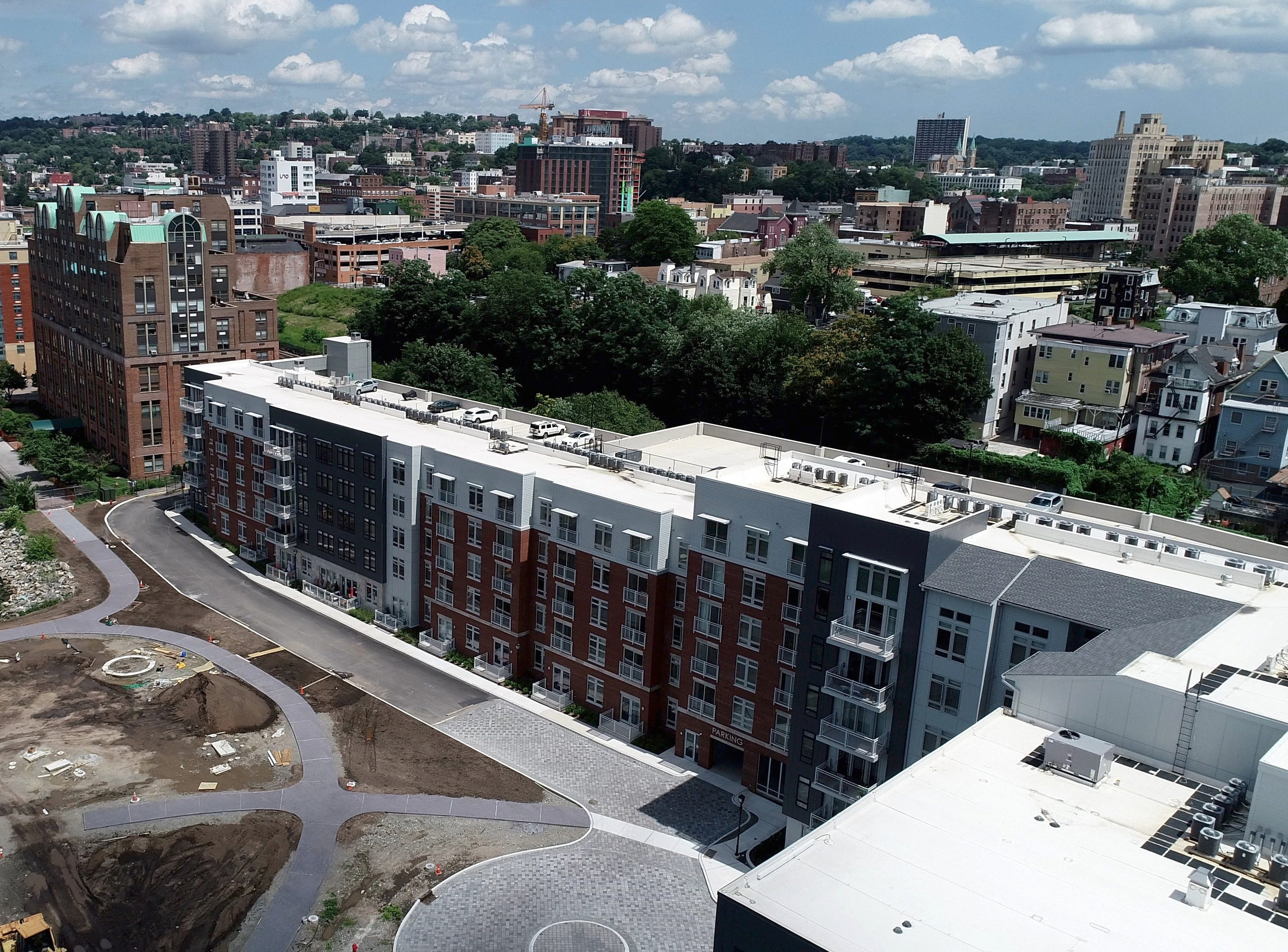 The Modera development site in Yonkers Aug. 2, 2018.