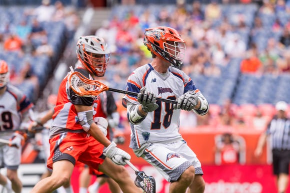 Chris Bocklet signed with the Dallas Rattlers before this season and played six games before deciding to focus on his career off the field.