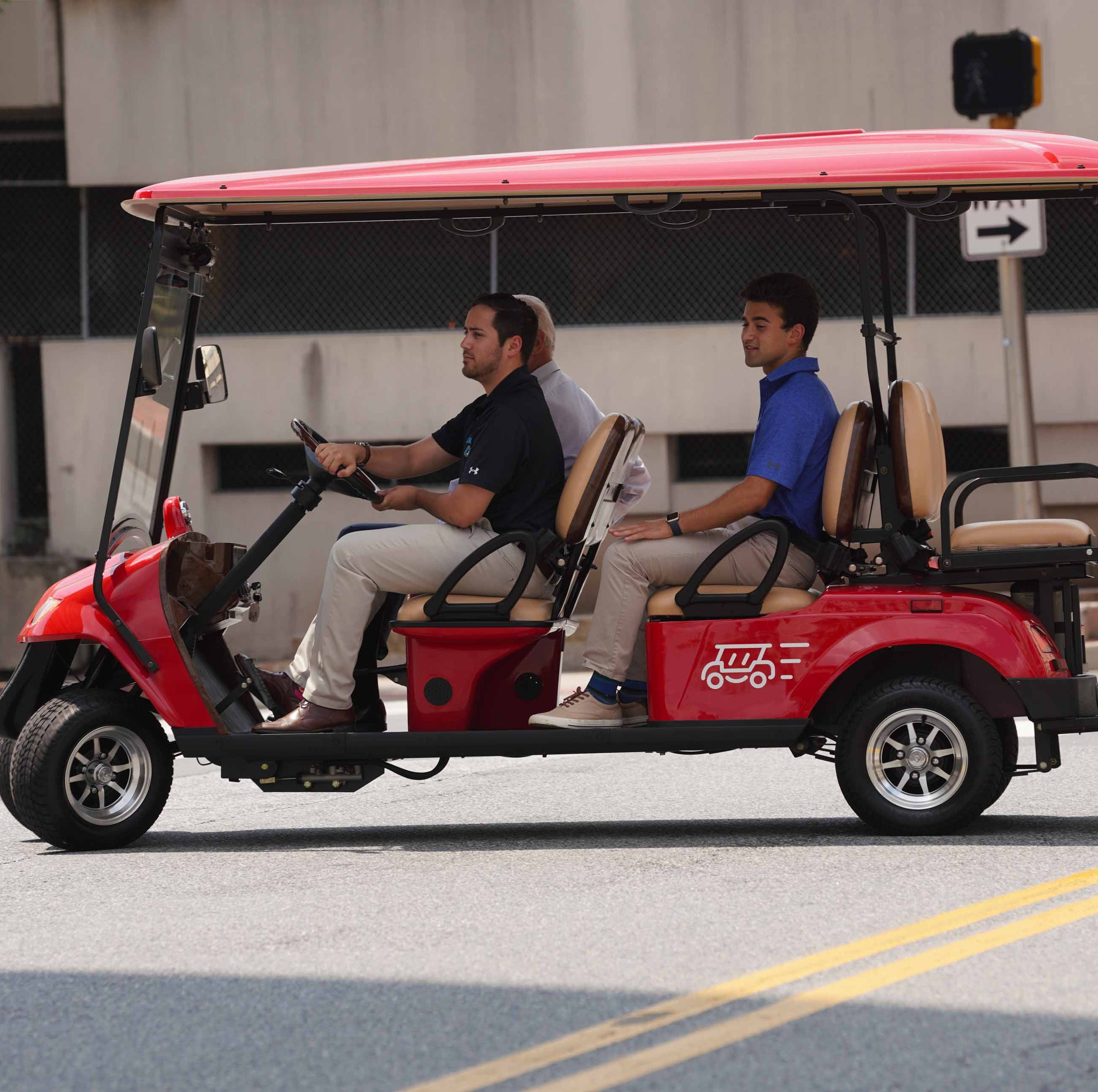 Uber-like golf carts could 'activate' Wilmington's Market Street, founders say