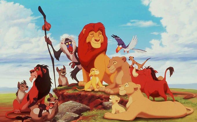 "Alabama:  ""The Lion King"""