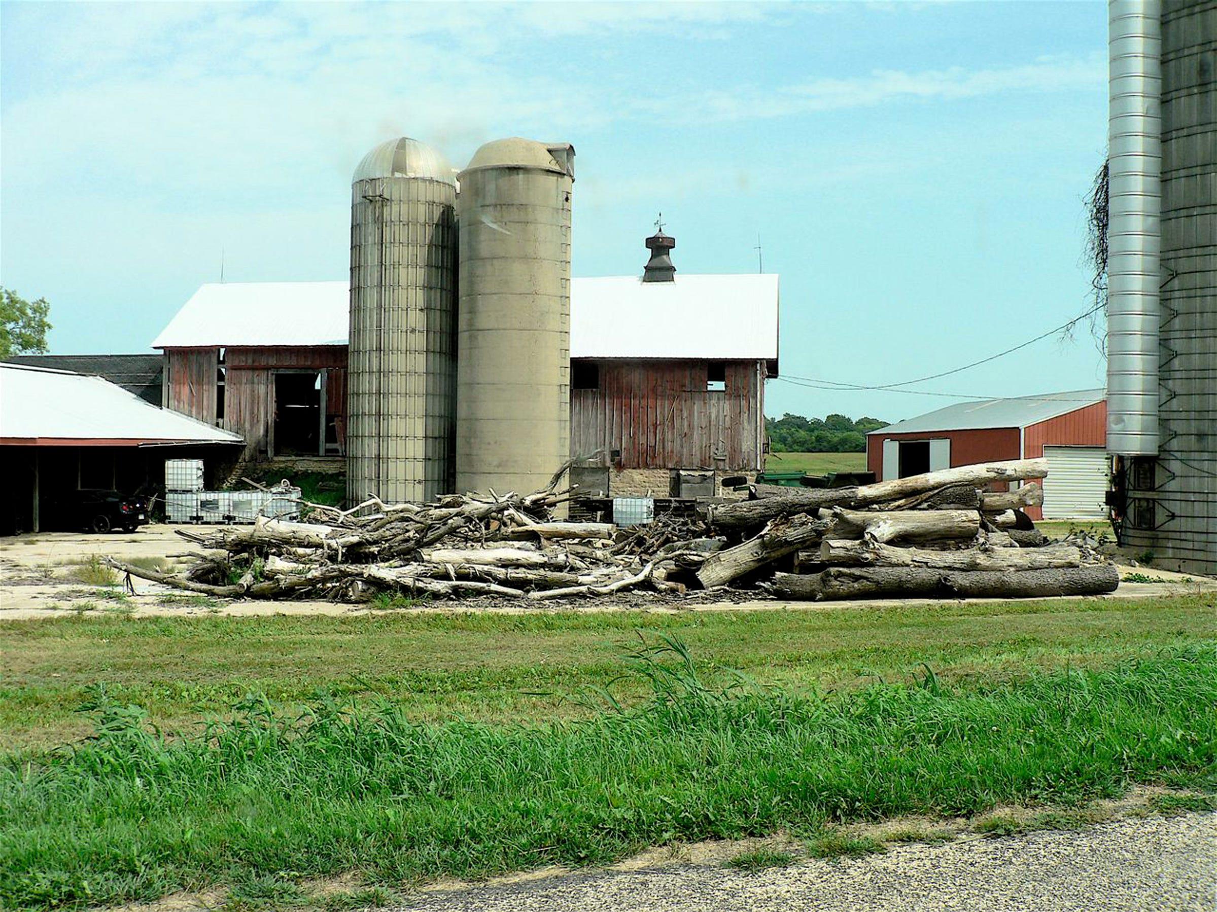 An empty barn is a sad sight.