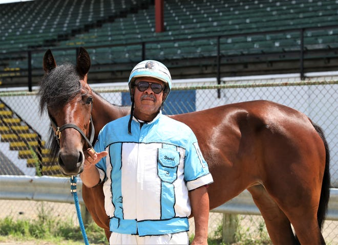 David Morgan has been involved with harness racing since his youth. The 66-year-old from Zanesville will compete in the harness races on Sunday and Monday at the Muskingum County Fair.