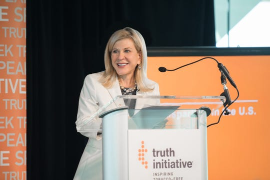 Robin Koval, a former advertising agency founder and CEO, heads the anti-tobacco advocacy group Truth Initiative.