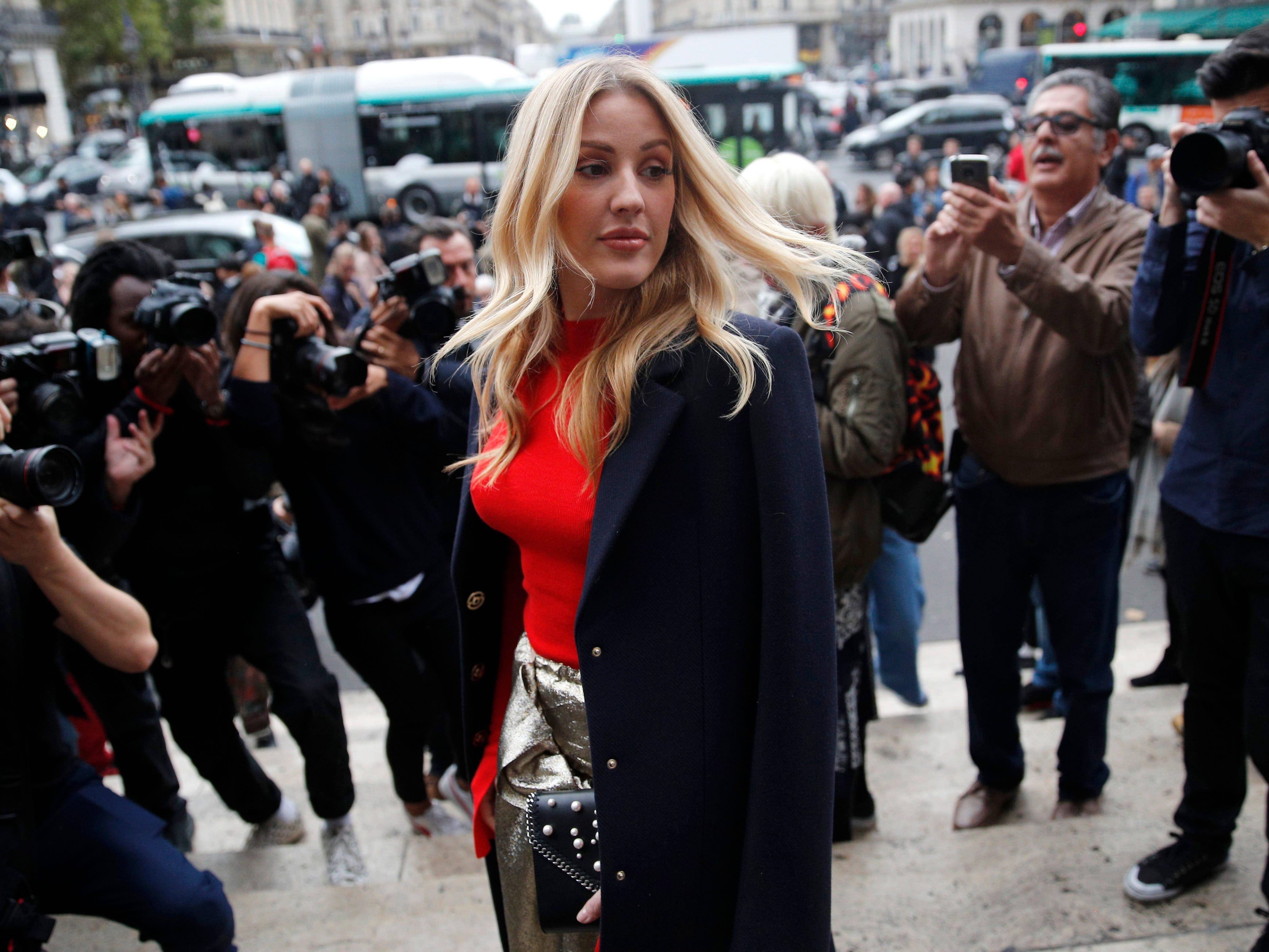 Ap France Britain Ellie Goulding I Ent File Fra