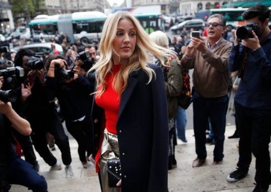 Ap France Britain Ellie Goulding I Ent File Fra