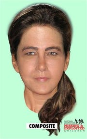 "Composite of the ""Lady of the Dunes"" murder victim."